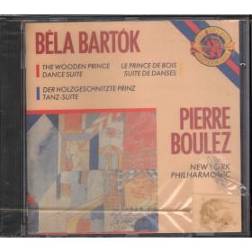 Bela Bartok / Pierre Boulez CD The Wooden Prince - Dance Suite / MK 44700 Sig