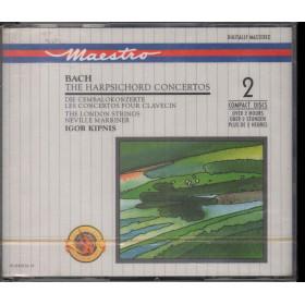 Back CD The Harpsichord Concertos / Die Cembalokonzerte - CBS M2YK 45616 Sig