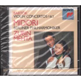 Bartok / Zubin Mehta / Midori CD Violin Concertos Nos. 1 & 2 Sigillato 5099704594125