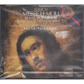 JS Bach CD Mass In B Minor Messe In H-Moll Messe En Si Mineur BWV 232