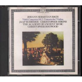 J S Bach - J Schroder - C Hirons CD Violin Concertos 1 & 2 / Concerto For Two Violins