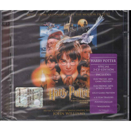 John Williams CD Harry Potter And The Philosopher's Stone OST Sigillato 0075679308627