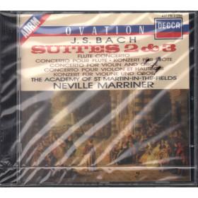 J S Bach / N Marriner CD Suites 2 & 3 / Decca 417 715-2 Sigillato 0028941771520