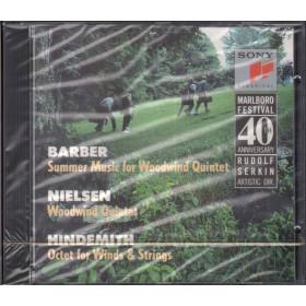 Barber / Neilsen / Hindmith CD Marlboro Music Festival 40th Anniversary Sigillato 5099704625027