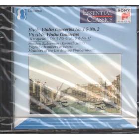 J S Bach / A Vivaldi CD Violin Conciertos · Sillito · Zukerman Sigillato