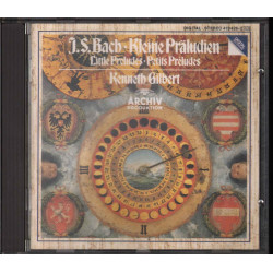 J S Bach / Kenneth Gilbert CD Kleine Praludien - Little Preludes - Petits Preludes Nuovo