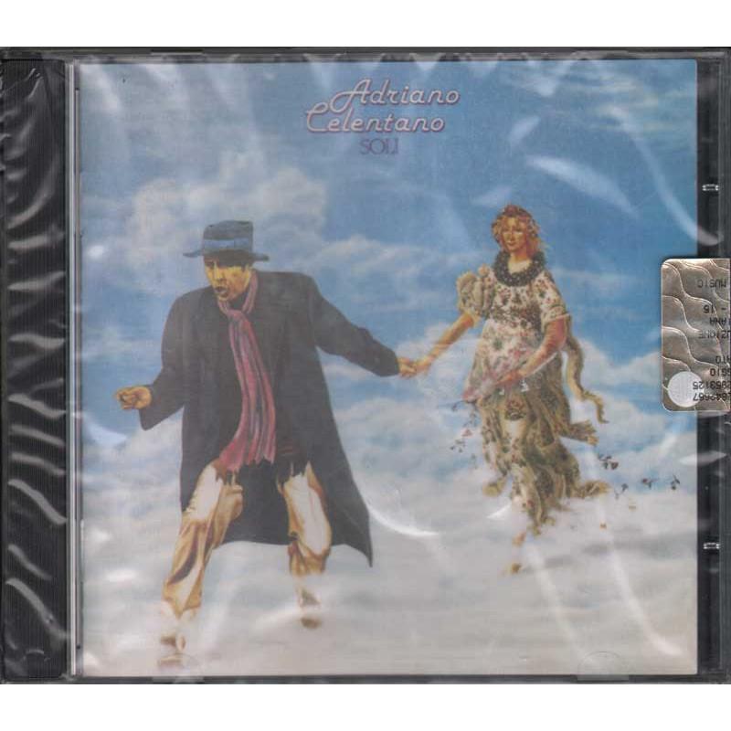 Adriano Celentano CD Soli Nuovo Sigillato