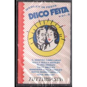 AA.VV MC7 Disco Festa Vol. 5 - Tutti In Pista Nuova Sigillata 0731451425547