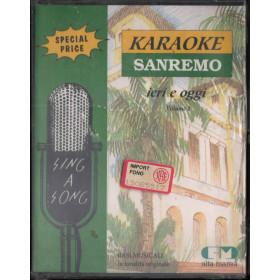 AA.VV 2x MC7 Karaoke Sanremo Ieri E Oggi Vol. 1 Sigillata 0042217069746