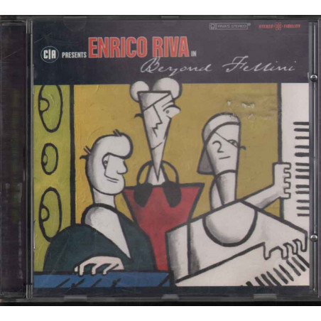 Riva Enrico CD Beyond Fellini / Warner Music Nuovo 0809274206022