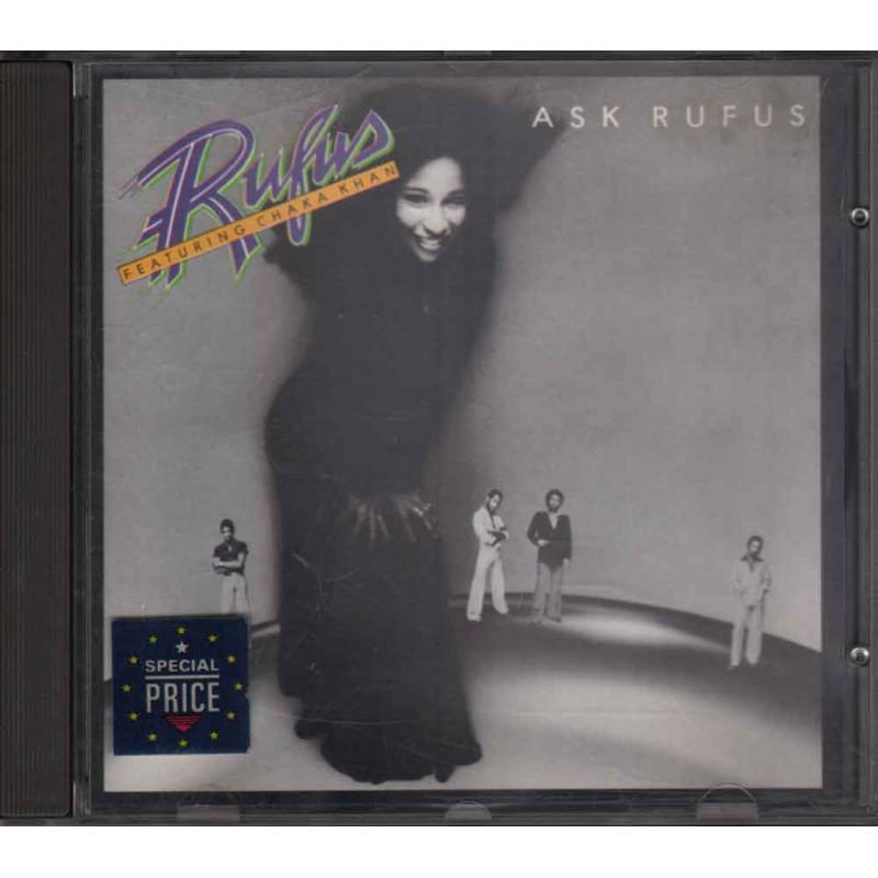 Rufus Featuring Chaka Khan CD Ask Rufus / MCA Nuovo 0008811044923