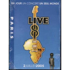 AA.VV. DVD Live 8 Paris Nuovo Sigillato 0094634226295