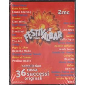 38° Festivalbar 2001 MC7 Compilation Rossa Nuova Sigillata 0731455671346