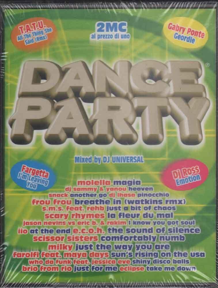 AA VV 2x MC7 Dance Party Winter 2003 Nuova Sigillata 0044006826943