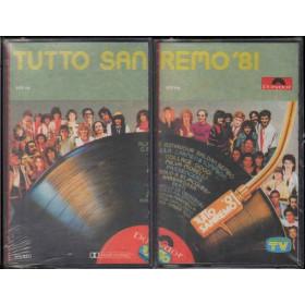 AA.VV 2x MC7 Tutto Sanremo '81 Nuova Sigillata Polydor 3172 113