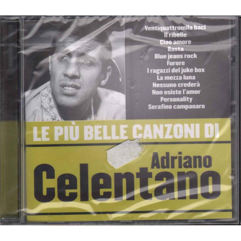 Adriano Celentano Cd Le Piu Belle Canzoni Di Sigillato 5051011000652