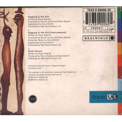 Peter Gabriel CD'S Digging In The Dirt Nuovo 0724389000825