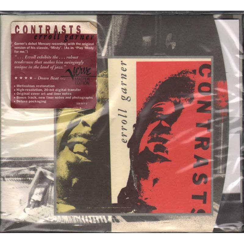 Erroll Garner CD Contrasts - Digipack Nuovo Sigillato 0731455807721