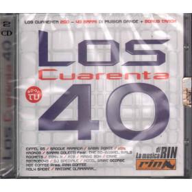AA.VV.  2 CD Los Cuarenta 40 Nuovo Sigillato 8032484003712