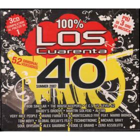AA.VV.  2 CD Los Cuarenta Summer 2007 Nuovo Sigillato 8032484017559