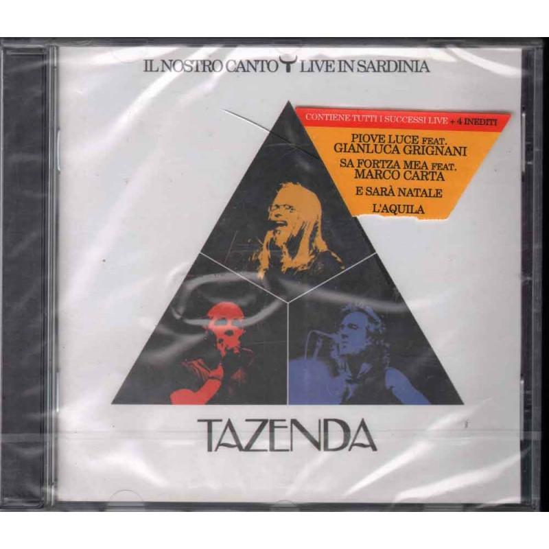 Tazenda  CD Il Nostro Canto Live In Sardinia Nuovo Sigillato 0602527071411