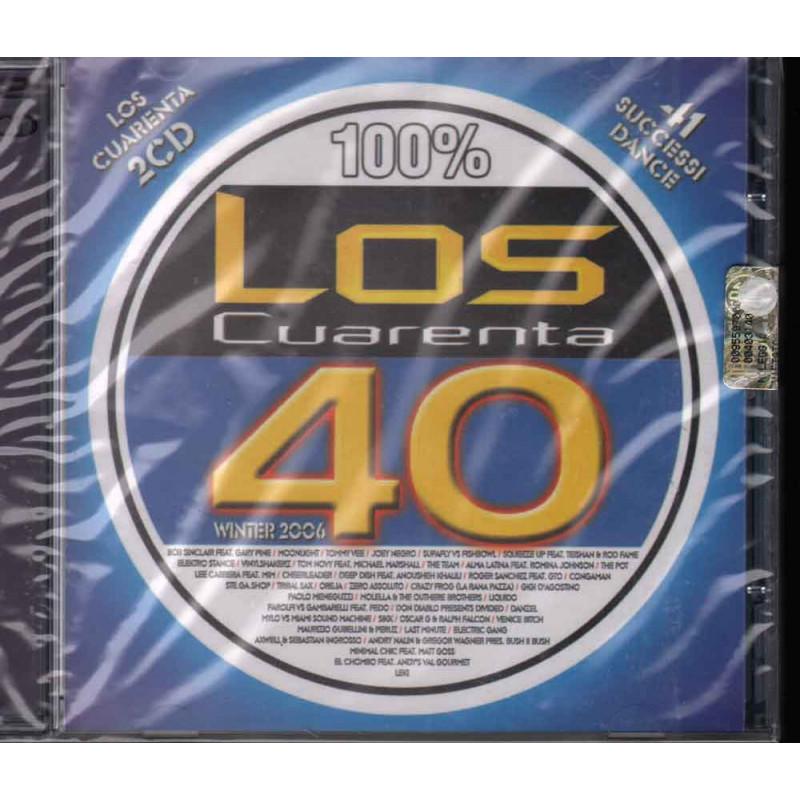 AA.VV. 2 CD Los Cuarenta Winter 2006 / S.A.I.F.A.M. 8032484012554