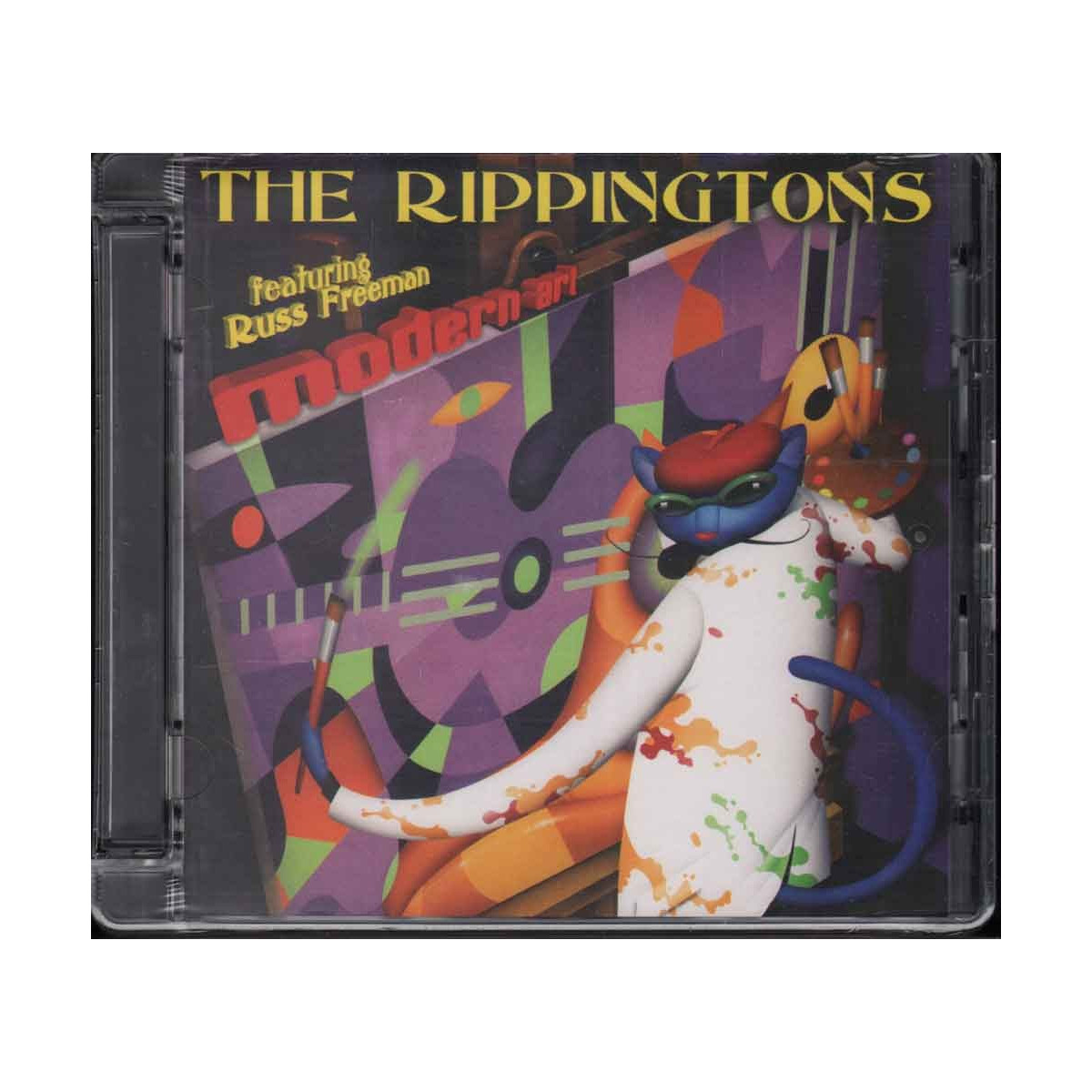 The Rippingtons Feat Russ Freeman CD Modern Art Sigillato 0888072306356