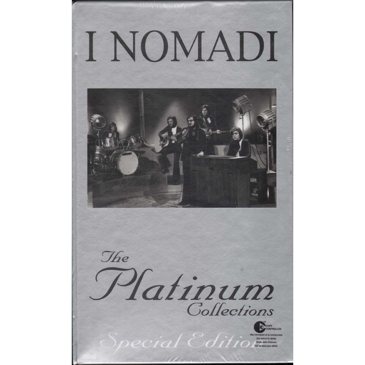 Nomadi COF. 6 CD The platinum collections Special Ed Sigillato 0094635822120