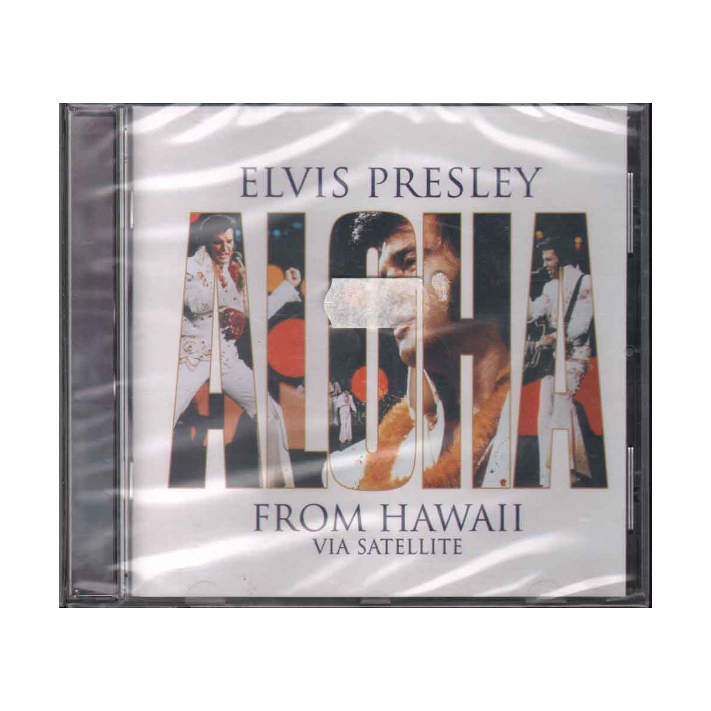 Elvis Presley  CD Aloha From Hawaii Via Satellite Nuovo Sigillato 0078636760926
