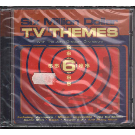 The John Gregory CD Six Million Dollar TV Themes OST Sigillato 0731454425827