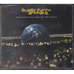 Super Furry Animals ‎‎Cd'S Singolo (Drawing) Rings Around The World Sigillato