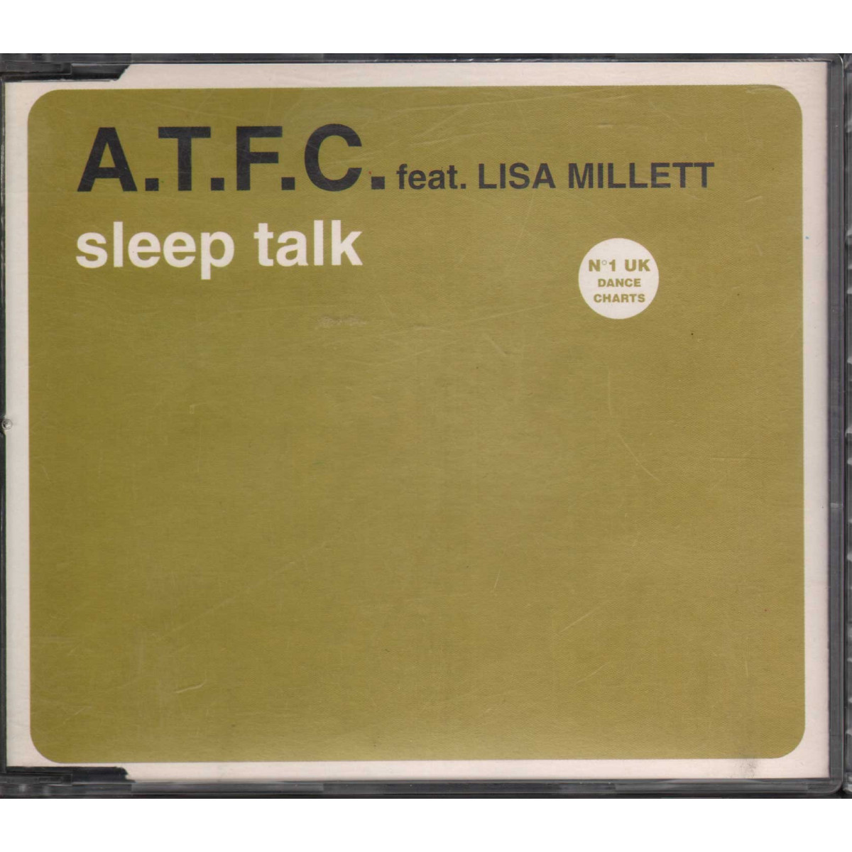 ATFC Feat. Lisa Millett Cd'S Singolo Sleeptalk / Defected Nuovo 8012861401973