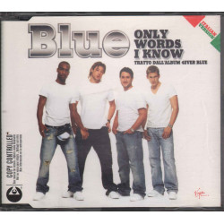 Blue Cd'S Singolo Only Words I Know / Nuovo / Innocent 0724387251120
