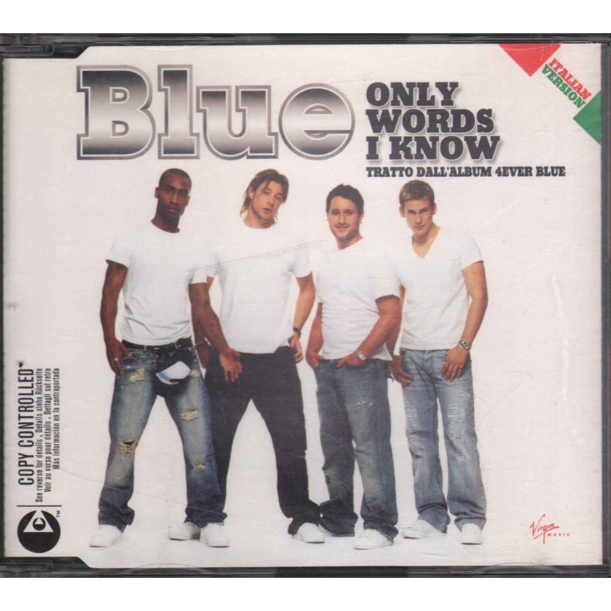 Blue Cd'S Singolo Only Words I Know / Sigillato / Innocent 0724387251120