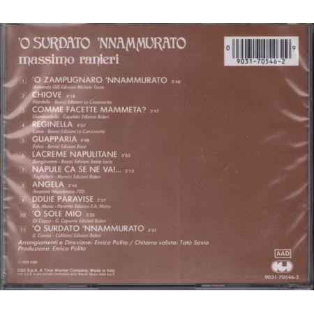 Massimo Ranieri  CD 'O Surdato 'Nnamurato Nuovo Sigillato 0090317054629