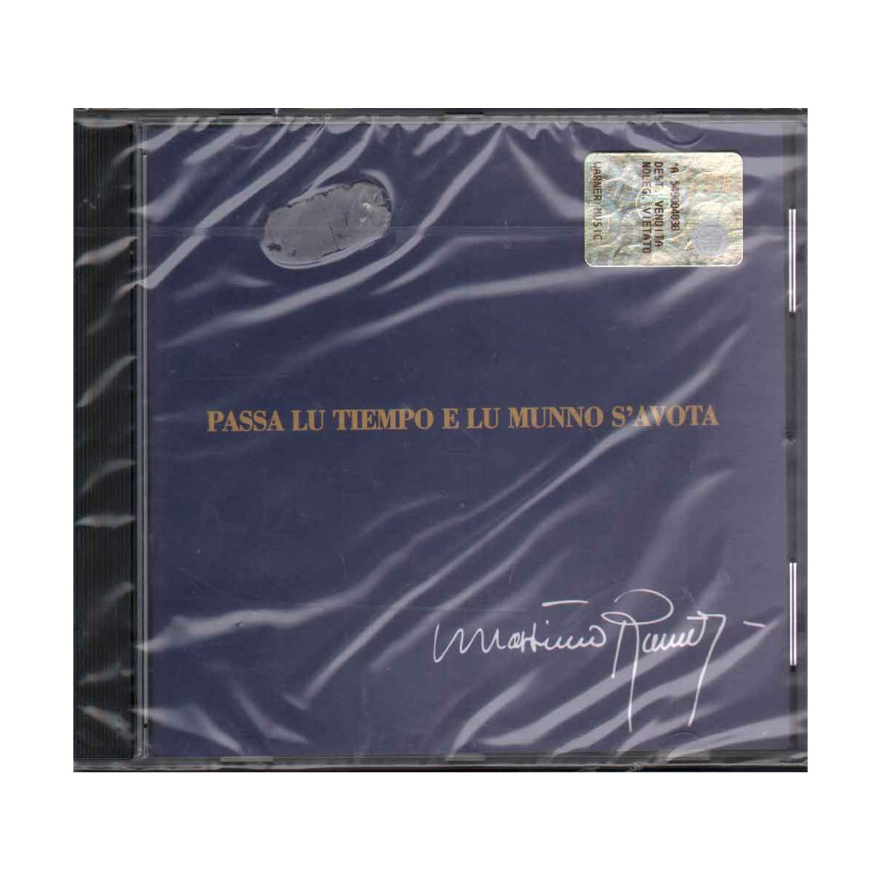 Massimo Ranieri  CD Passa Lu Tiempo E Lu Munno S'Avota Sigillato 5051865159056
