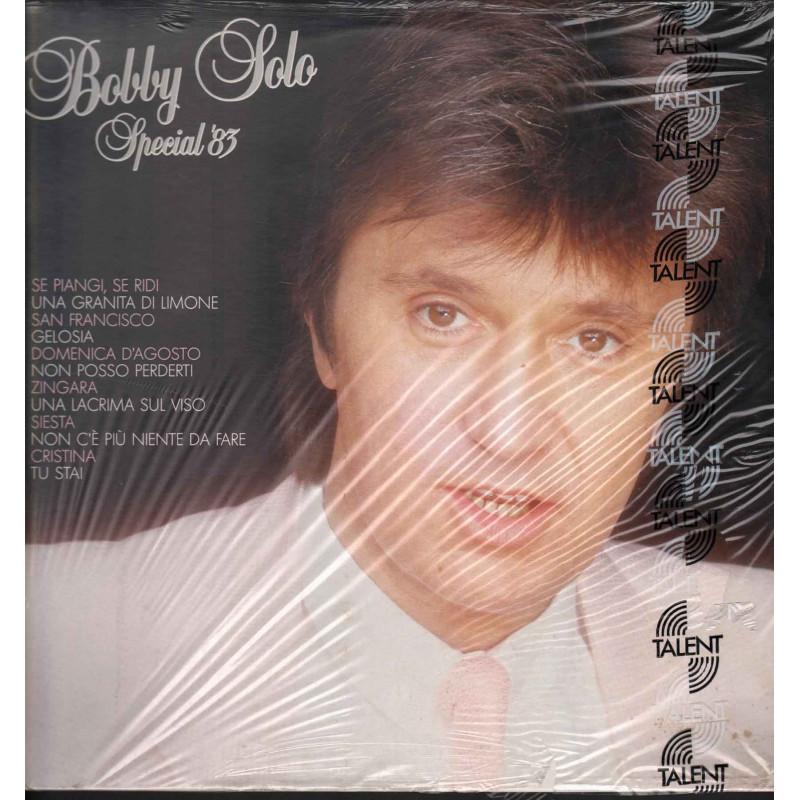Bobby Solo Lp 33giri Special '83 Nuovo 5099911860112