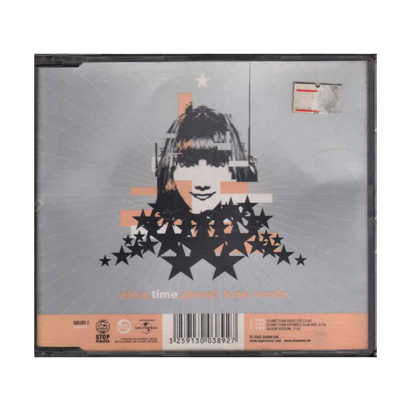 "Elisa CD'S Time Sugar Music -"" 300389-2 Nuovo 3259130038927"