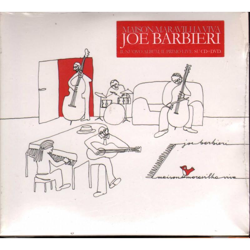 Joe Barbieri CD DVD Maison Maravilha Viva / Microcosmo 8033210120260