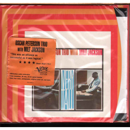 The Oscar Peterson Trio With Milt Jackson CD Very Tall / Verve Sigillato