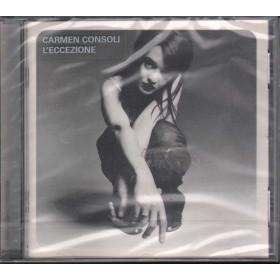 Carmen Consoli CD L'Eccezione /  Polydor Sigillato 0044006519524