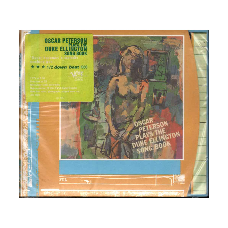 Oscar Peterson CD Plays The Duke Ellington Song Book Sigillato 0731455978520