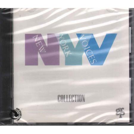 New York Voices CD Collection - GRP 97662 Francia Nuovo Sigillato 0011105976626