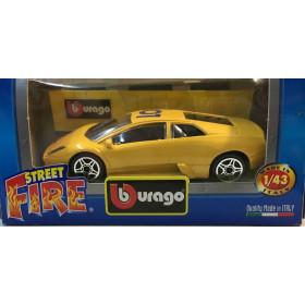 Burago Lamborghini Murcielago Gialla 01 Street Fire - Scala 1:43 Nuova