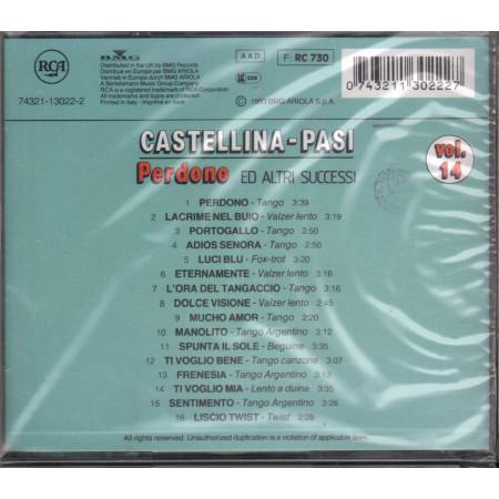 Castellina Pasi CD Perdono Ed Altri Successi Vol 14 / RCA Sigillato