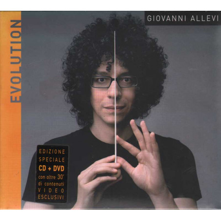 Giovanni Allevi CD + DVD Evolution Nuovo Digipack Sigillato  0886973176429