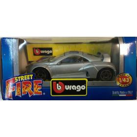 Burago Prima Giugiaro Grigio 01 Steet Fire - Scala 1:43 Nuova
