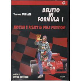 Delitto In Formula Uno DVD Tomas Milian Cecchi Gori Sigillato 8017229437908