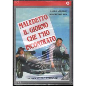 Maledetto Il Giorno Che Ti Ho Incontrato DVD Carlo Verdone Cecchi Gori Sigillato