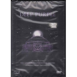 Deep Purple ‎DVD In Concert With The London Symphony Orchestra Eagle EREDV114 Sig